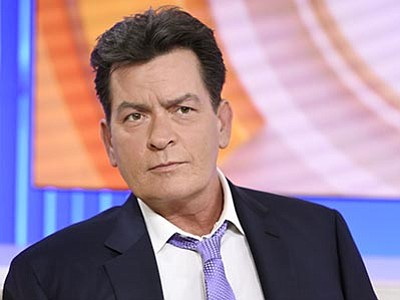 """Peter Kramer/NBC via AP<br> Actor Charlie Sheen appears during an interview, Tuesday, Nov. 17, on NBC's """"Today"""" in New York. In the interview, the 50-year-old Sheen said he tested positive four years ago for the virus that causes AIDS."""