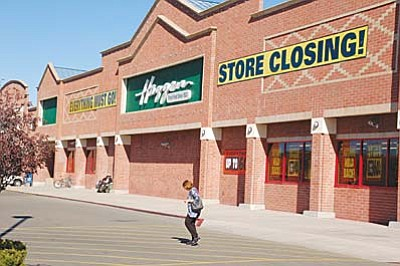 The Haggen in Prescott, located in the Depot Marketplace, 377 N Montezuma St., closed in December 2015.