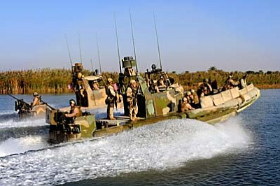 Photo: archive.defense.gov<br /><br /><!-- 1upcrlf2 -->Two riverine boats, similar to this one, drifted into Iranian waters and the crews were detained.