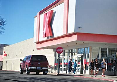 The Kmart in Prescott Valley is slated to close in a few months. (Les Stukenberg/The Daily Courier)
