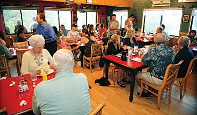 Daily Courier/File<br /><br /><!-- 1upcrlf2 -->Lynx Lake Café and Marina will be opening its doors for the season on Thursday, Feb. 4, following its annual winter closure.