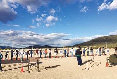 Archery is a popular sport at Chino Valley's Heritage Middle School. (Courtesy photo)