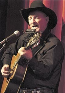 Courier/Les Stukenberg  Marshall Trimble performs at the 2005 Elks theater Gala in downtown Prescott. This year¹s event will honor the theater¹s opening and Arizona statehood.