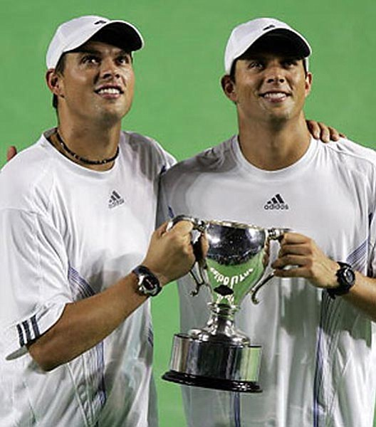 Courtesy Photo</br>Mike and Bob Bryan is the No. 1-seeded men's doubles team at Wimbledon.