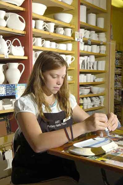 Creativity gets all fired up at Ace's Pottery Paintin' Place