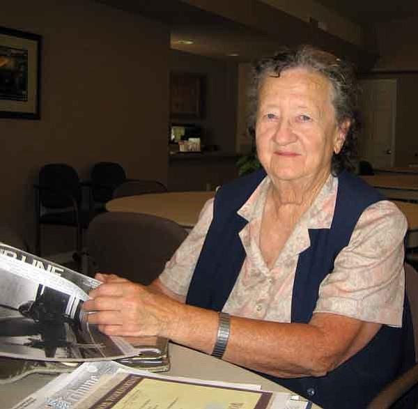 Prescott resident Irene Leverton shares memories of her long career in aviation.