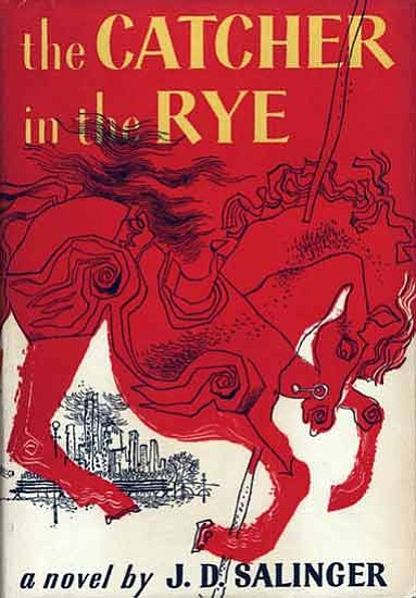 """Catcher in the Rye"" by J.D. Salinger."