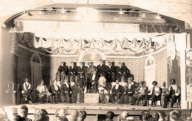 COURTESY/ SHARLOT HALL MUSEUM ---  Dakes Opera House, circa 1901. Amateur theater in Prescott is the subject of Thomas Collins' presentation at the Western History Symposium at the Sharlot Hall Museum.