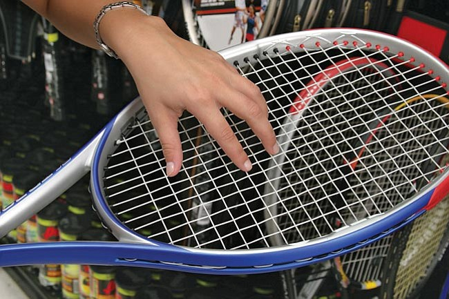 """Racquet and string specifications came along in 1977 after the """"spaghetti"""" strung racquet gained notoriety as second- and third-line players became champions with it."""