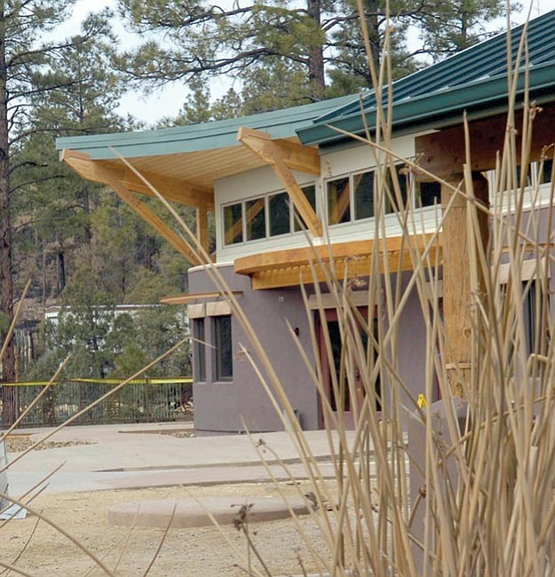 The Daily Courier/ Jo. L. Keener This photo from Jan. 10 shows an exterior view of the new Highlands Center for Natural History.