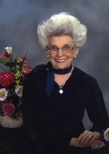 Mrs. Alma Jo Elrod Stevens Minucci