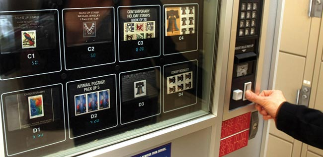Postal Service Phasing Out Vending Machines The Daily