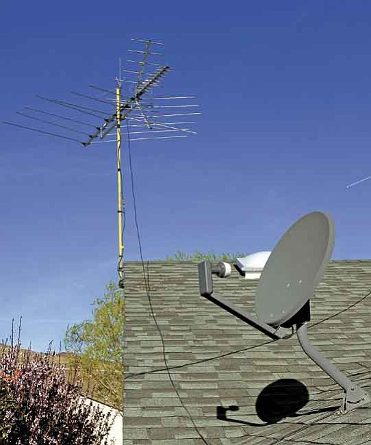 The Daily Courier photo illustration/Jo. L. Keener<p> As of Feb. 17, 2009, over-the-air antennae will require a converter box for reception because of a federal mandate requiring the switch from analog to digital, but it will not affect those with satellite or cable service.