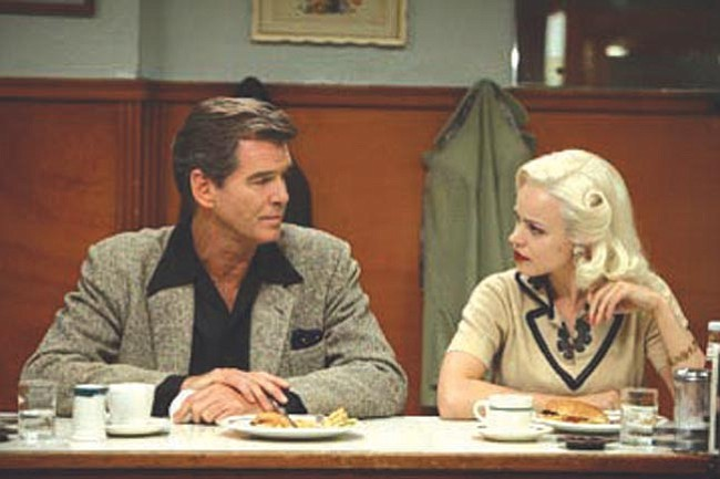 "Courtesy<br> Pierce Brosnan and Rachel McAdams star in ""Married Life."""