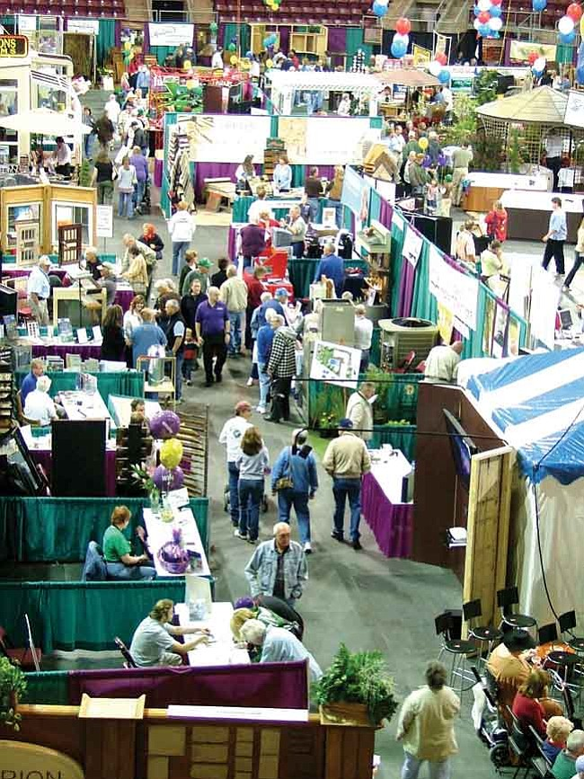 Courtesy/Yavapai County Contractors Association With a cool housing market, many homeowners are renovating rather than moving, giving the Yavapai County Contractors Association Home and Garden Show a boost.