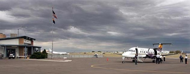 The Daily Courier/Les Stukenberg<br> Mesa Air is closing up shop as of May 31.