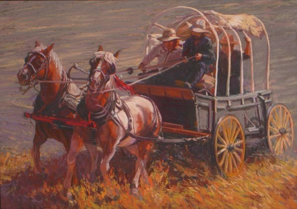 """Courtesy<p> """"Reaching Shore"""" by Mary  Ann Cherry won Best in Show at last year's Western Art Show at the Courthouse Plaza."""