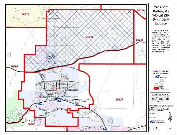 Prescott valley arizona zip code