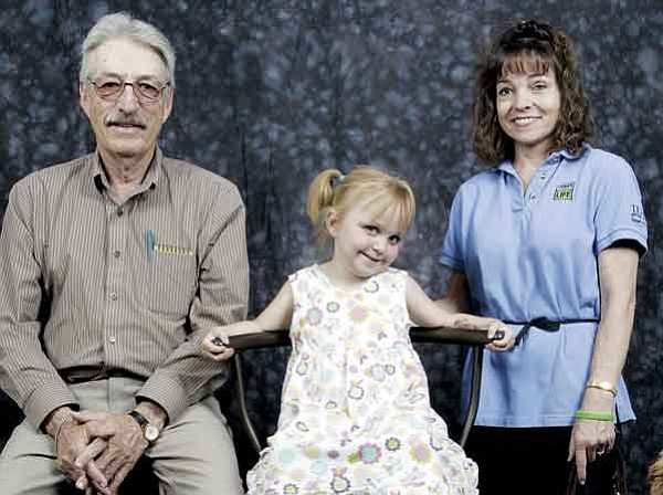 The Daily Courier/Les Stukenberg<p> Richard Bowerman, left, Kajsa Bupp and Turalee Smith are all organ recipients.