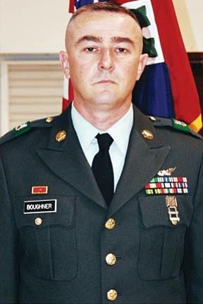 Sgt. Micky F. Boughner