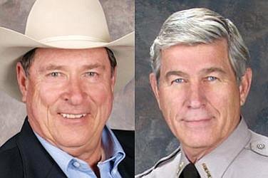 Republican Ernie Cox, left, is running against incumbent Steve Waugh.