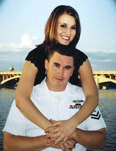 Christie Herold and Kyle Selinsky