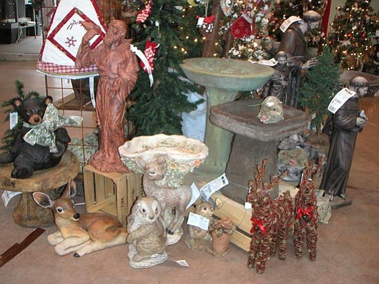 Courtesy<p> There's more to lawn ornaments than garden gnomes.