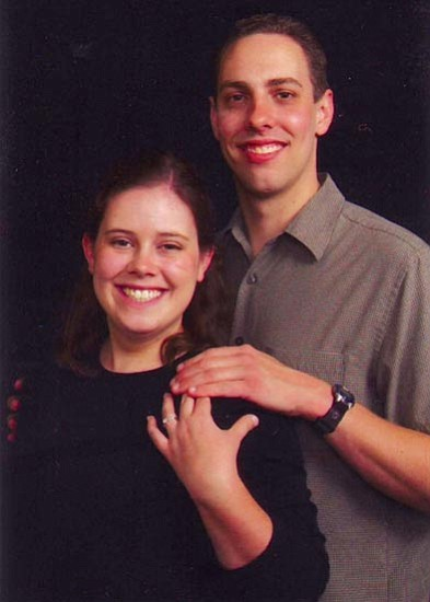 Megan Wineinger and Caleb Swanson
