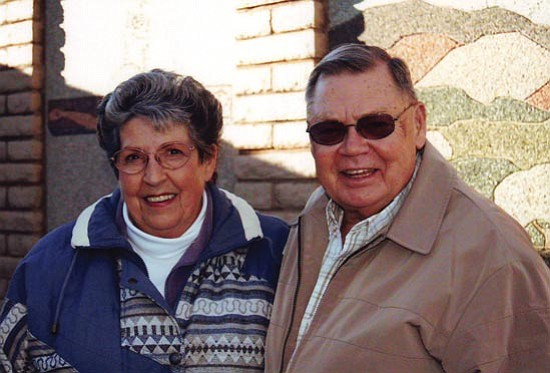 Jim and Freda Jeffries