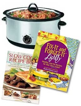 Using a slow cooker is a great way to make a healthy meal for your family.