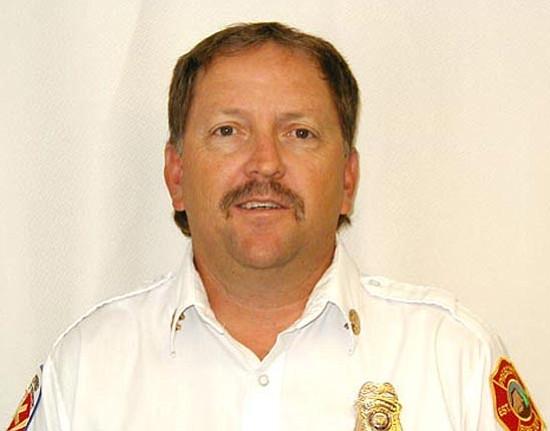 Former Prescott Fire Department Battalion Chief Brad Malm