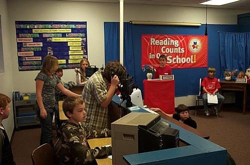 Courtesy/Salina Sialega<p> Kids Del Rio Network crew members get ready for a show at Del Rio Elementary School.
