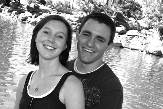 Karli Preston and Matthew Kelley
