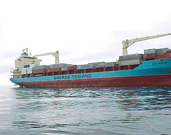 Maersk Line/The Associated Press<p> This undated image shows the 17,000-ton container ship Maersk Alabama, when it was operating under the name Maersk Alva, which has been hijacked by Somalia pirates with 20 crew members aboard while sailing from Salalah in Oman to the Kenyan port of Mombassa via Djibouti.
