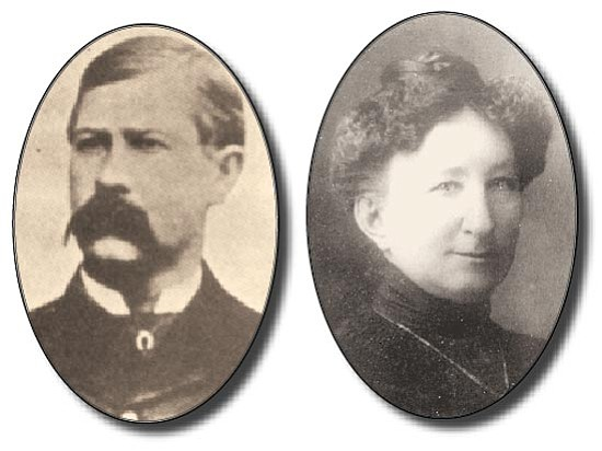 Courtesy photos<p> Virgil Earp and Big Nose Kate are two of Prescott's most famous historical residents.