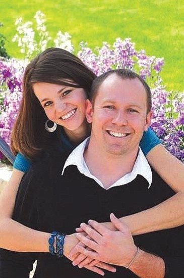 Jennifer Eckle and Cory Reid