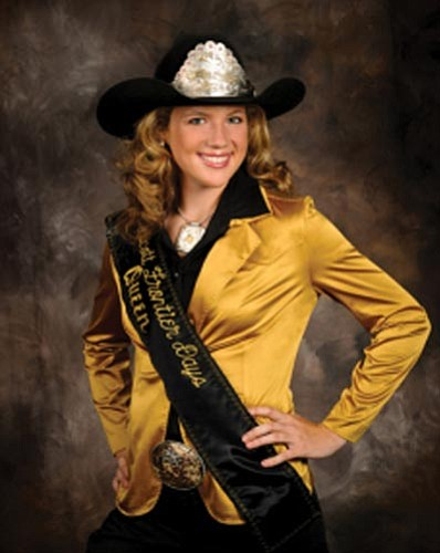 Outgoing Prescott Frontier Days Rodeo Queen Jordan Anderson.