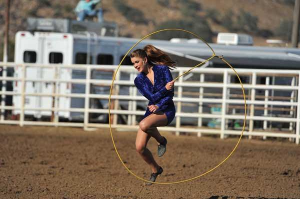 Riata Ranch Cowboy Girls Act Highlights Prescott Rodeo S