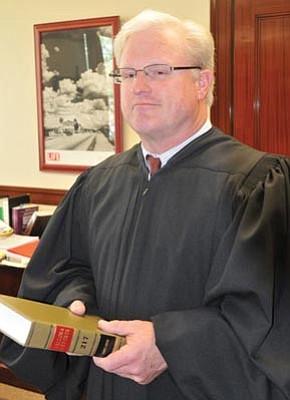 Yavapai County Superior Court Presiding Judge Robert M. Brutinel