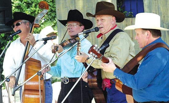 Courier file photo<p> The Desert Sons, popular musicians from Tucson, will entertain Saturday evening during the 22nd annual Arizona Cowboy Poets Gathering in the Yavapai College Performance Hall.