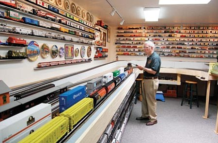 Courtesy photo<p> Model Railroad Day is Saturday at the Grace Sparkes Activity Center, 800 W. Gurley.
