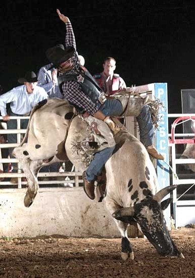 Cowboy Capital Professional Bull Riders In Prescott