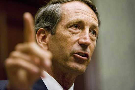 Mary Ann Chastain/<br>The Associated Press<br>South Carolina Governor Mark Sanford was urged to resign by a majority of Republicans in the state House. They are serious.