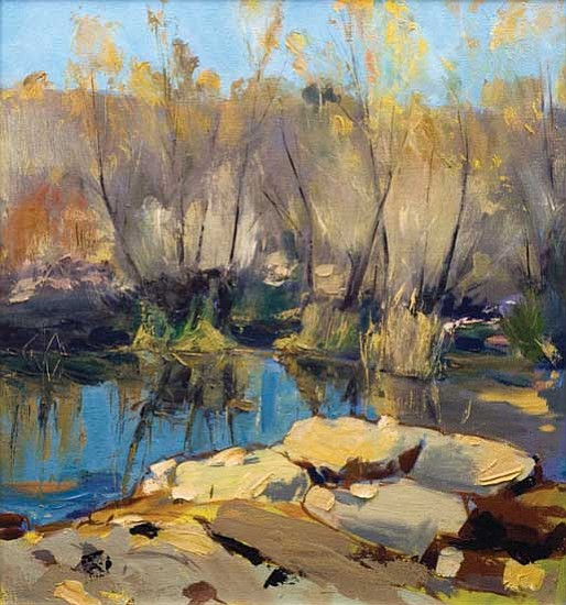 "Courtesy photo<p> Artist Clive Pates found his passion in painting landscapes. Two of his works are part of the Phippen Museum's ""Greatest Earth on Show"" exhibition that opened on Oct. 3."