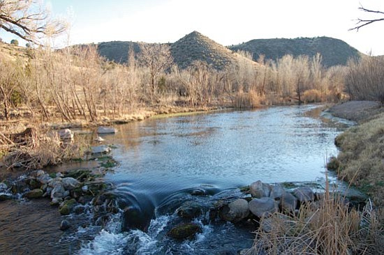 Joanna Dodder/The Daily Courier<p> Climate change experts forecast that flows in Arizona rivers such as the Upper Verde (pictured here) could drop 20-40 percent by the end of the century.