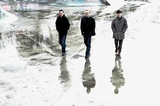 Courtesy photo<br>Buille, a trio from Ireland, will perform at 7 p.m. Wednesday, Nov. 10, at the Trinity Presbyterian Church.