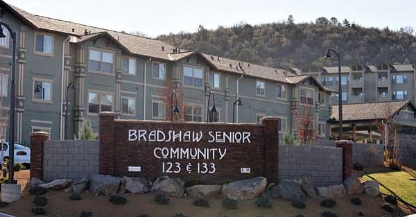Les Stukenberg/<br>The Daily Courier<br> WESCAP's Bradshaw Senior Community at 123 Bradshaw Drive, Prescott has received federal tax credits to build an additional 46 units.