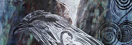 "Courtesy photo<br> The ""Beyond Printmaking II"" show features this work by Josephine Gibbs"