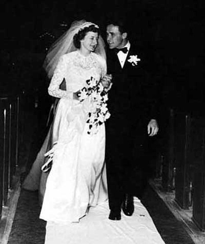 James Watt Perry and Jean Elaine Howell were united in marriage on Dec. 10, 1949.