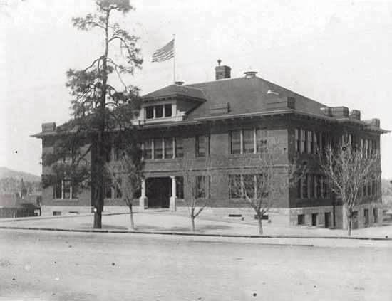 Courtesy photo<br> Washington Traditional Elementary School, 300 E. Gurley St. (pictured here circa 1916), is the oldest continuous school in Arizona.